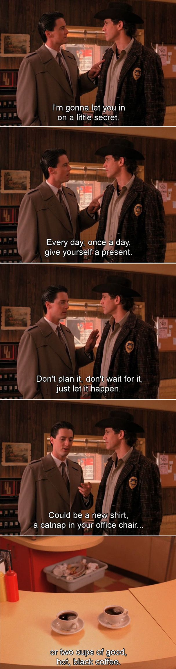 Twin Peaks- one of my favourite cooper speeches