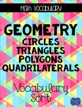 43 best non seasonal geometry worksheets images on pinterest this vocabulary word interactive sort is just what you need if you teach about triangles fandeluxe Choice Image
