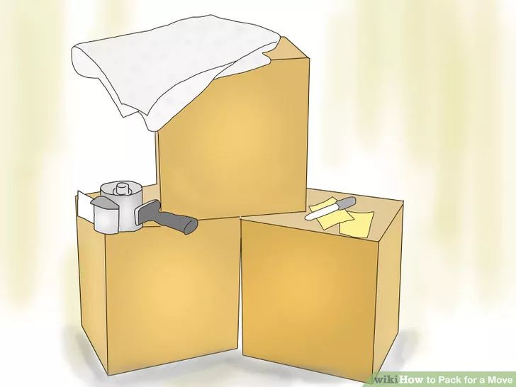 Image titled Pack for a Move Step 1