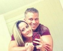 """""""Teen Mom"""" star Janelle Evans and boyfriend Nathan Griffith"""