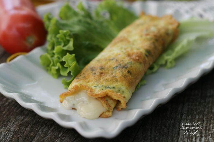 Omelette ripiena gustosissima