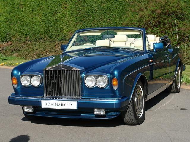 1991 Rolls-Royce Corniche.  v@e.