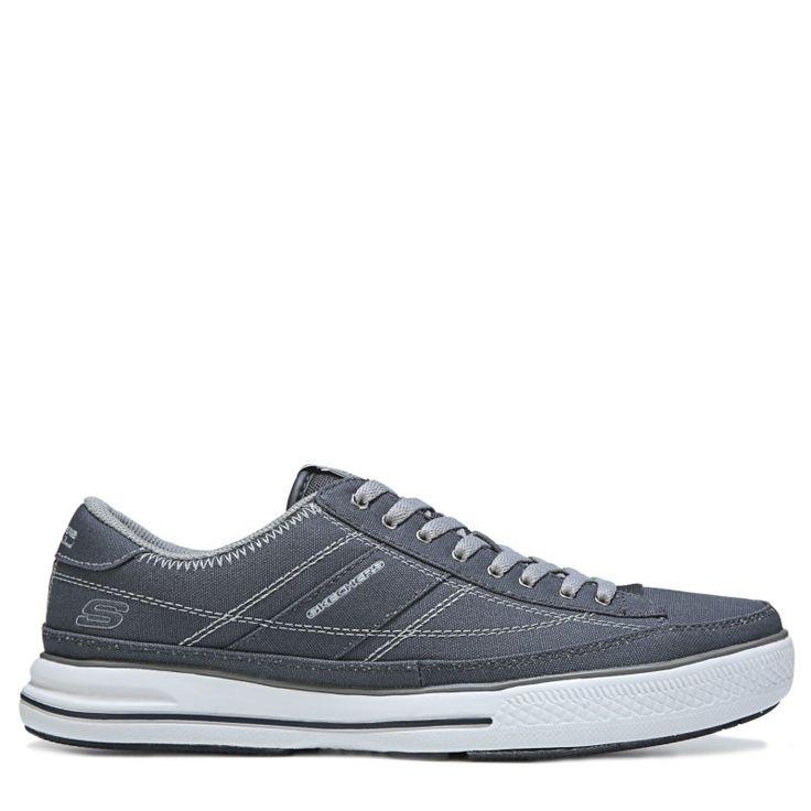 Skechers Men's Arcade Chat Memory Foam Sneakers (Grey) - 11.5 M