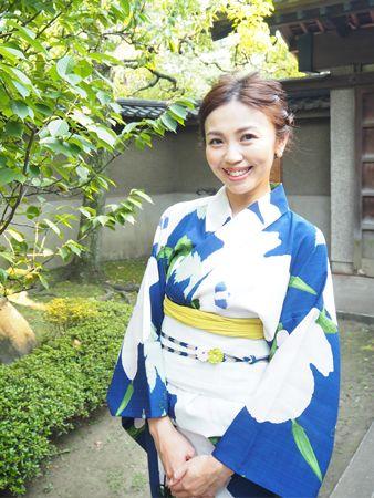 """ハッキリ色のコントラストで作る""""個性的な自分スタイル"""" #浴衣 #yukata #japan"""