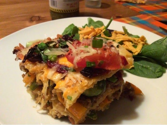 Moolicious Kitchen: Tortilla Lasagna