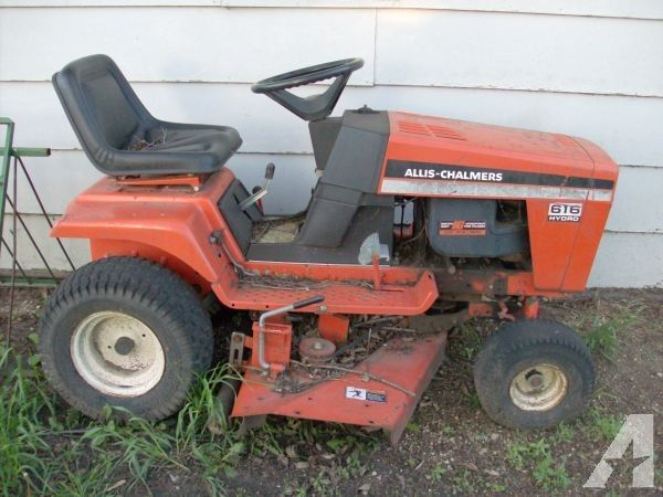 tractor mower for sale. for sale: 1972 allis chalmers 616 utility tractor with 60 belly mower deck and sale