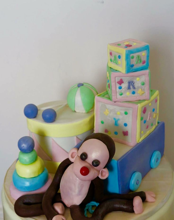 Toys toys toys cake. All cake covered in fondant