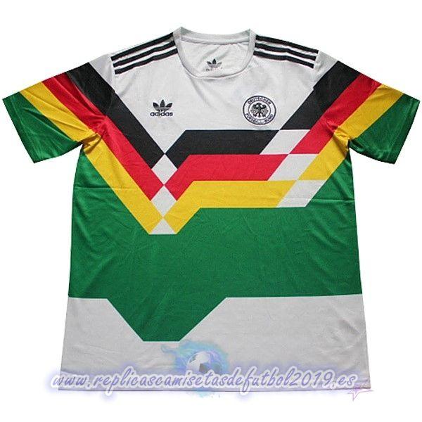 zapatos clasicos mejores telas sitio oficial Camisetas Baratas Adidas Camiseta Alemania Retro 1990 Verde in 2020