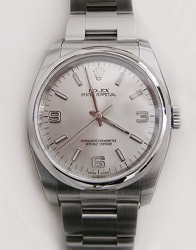 #Rolex #Oyster_Perpetual 116000 Silver 3-6-9 #swisswatchdealers
