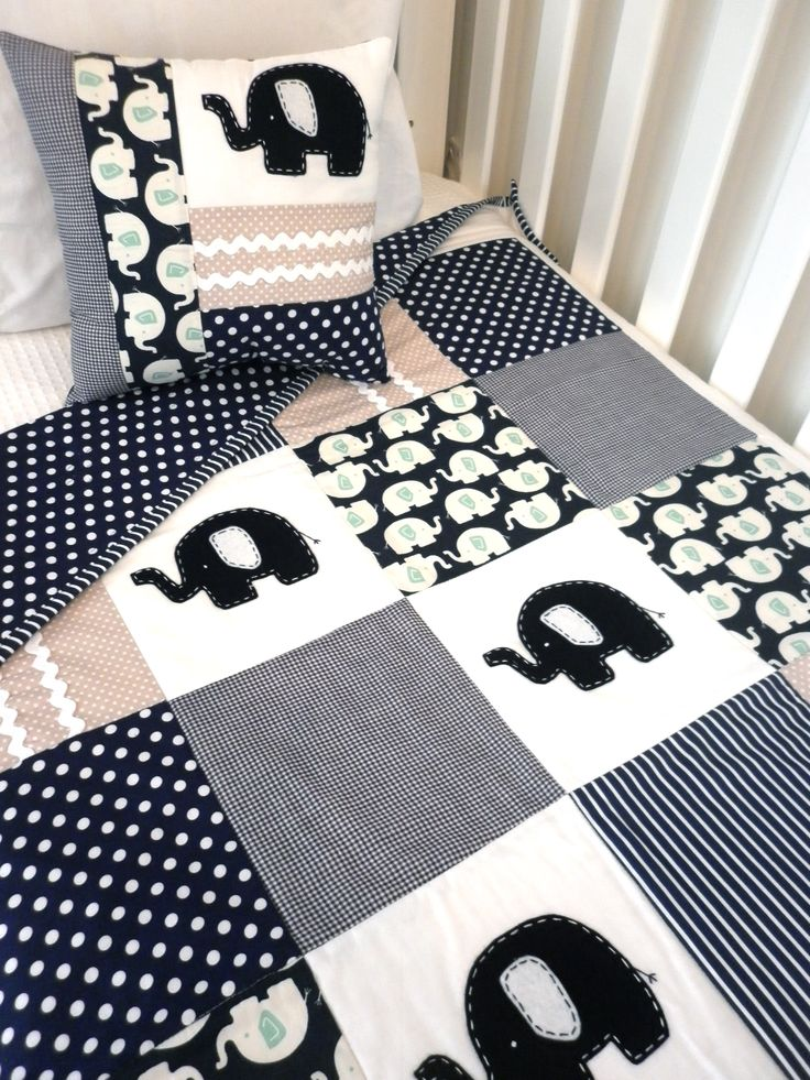 Quilt Pattern – Elephant