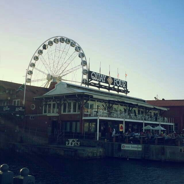 South Africa  Cape Town V&A Waterfront 》 Bigwheel♡