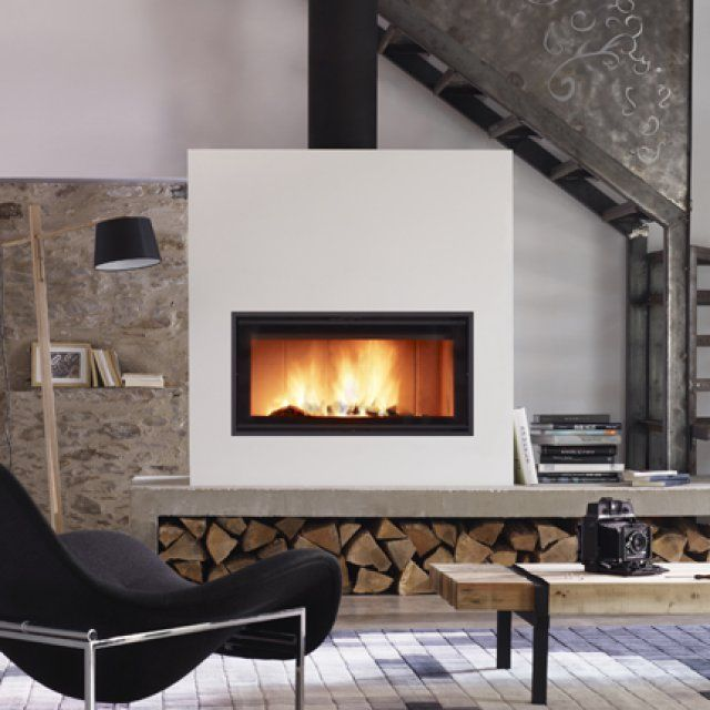 Modern Fireplaces, Home Decoration, Living Rooms, Foyers, Searching, Fireplace  Ideas, Stove, Fire Places, Marie Claire