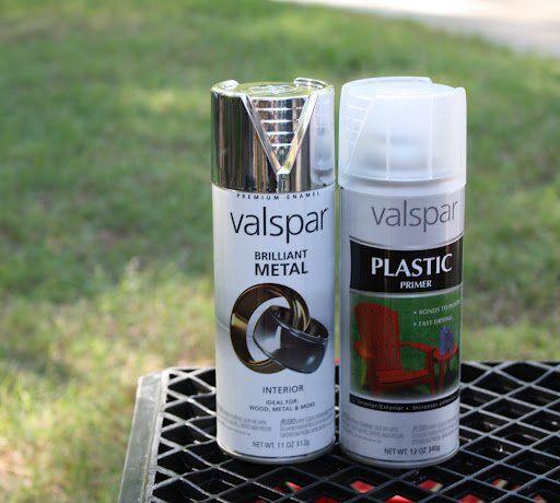 How to Spray Paint Plastic