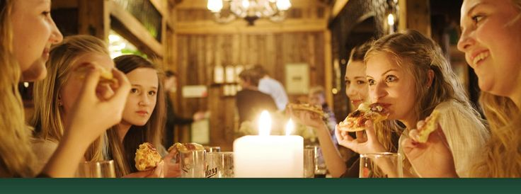 Lizzi-s pizza...znakomita...piękne wnętrze...Tønsberg, Norwegia