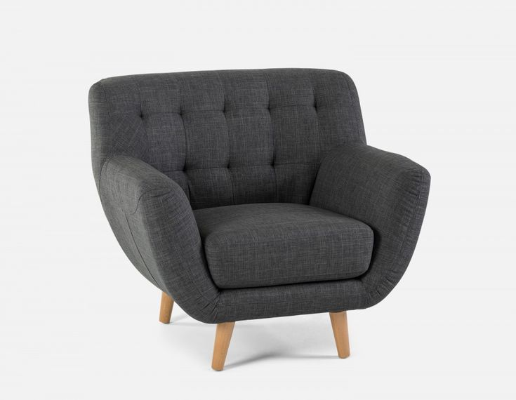 HALEY - Armchair - Dark Grey