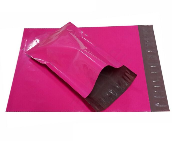 Size:250*350mm, pink packaging bag , poly mailers pink , plalstic mailing envelopes Pink plastic gift bags #Affiliate