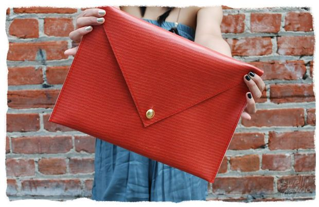 Picture of DIY Oversized Envelope Clutch