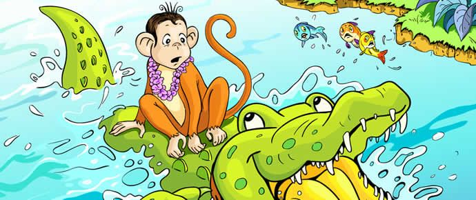 STORIES - LEARNING THAT MATTERS monkey-crocodile