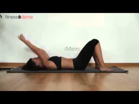 Пилатес- упражнения для Поясницы и Спины