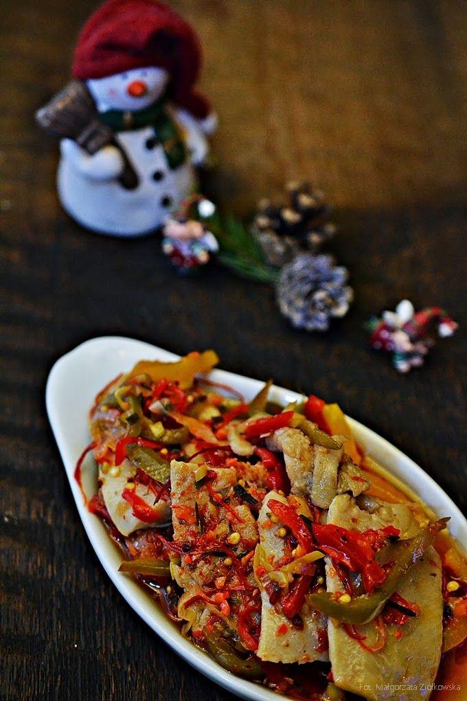 Smaki Alzacji : Pikantne śledzie paprykowe