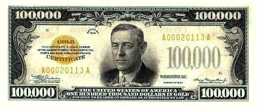 100000 dollar BILL - Google Search