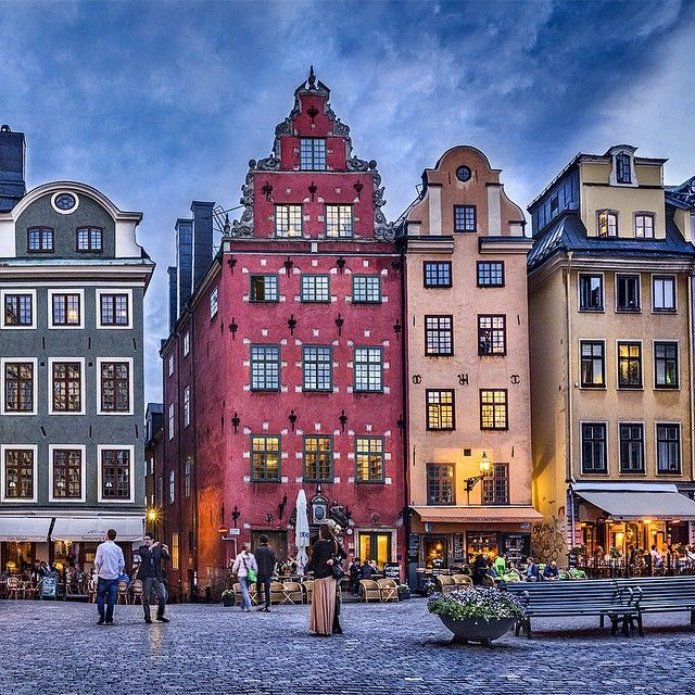 Stockholm's old charm.