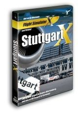 AEROSOFT : Stuttgart X  This add-on of Stuttgart airport represents the latest status of development of the real airport. The buildings, the layout of the runways and taxiways as well as the navaids are exactly as they are in reality. Numerous new buildings and the newly built exhibition center right next to the airport have also been included. A photo real ground texture has been used for the base of the scenery to ensure a real life feeling of the airport. The terrain has been edited to be…