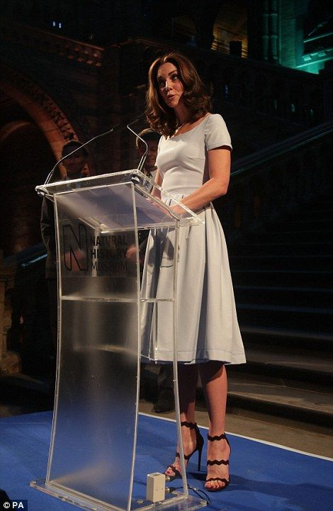 Duchess of Cambridge visits the Natural History Museum | Daily Mail Online