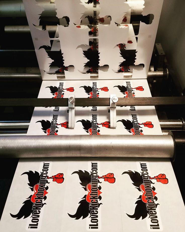 Custom die-cut stickers