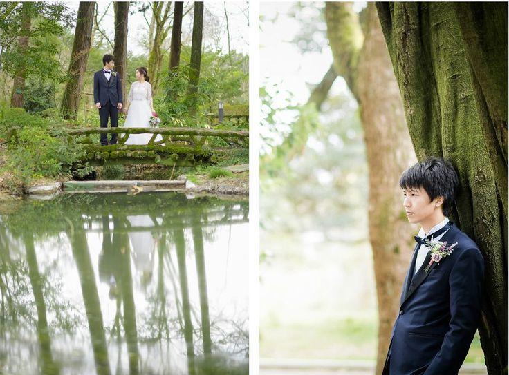 Photography: atelier marugo #京都府立植物園 #前撮り #ロケーションフォト #桜 #春