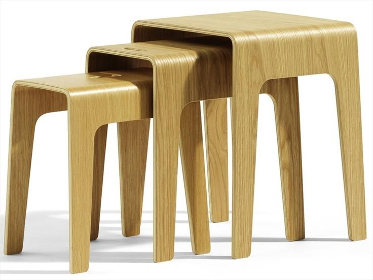 Wooden Coffee Table BIMBED by Blå Station | Design Peter Brandt (2009) @Blå Station