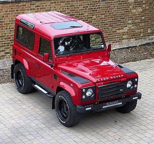 Land Rover Dealership: 28 Best Land Rover Defender 90 TD4 Soft Top Cabriolet ARB