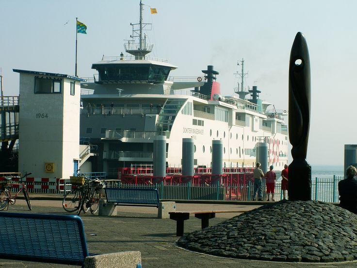 Texel veerboot van Texel naar den Helder en terug.