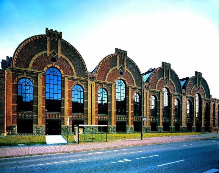 Werkhallen-Fassade Chemnitz ...