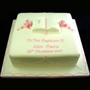 Open Bible cake