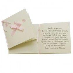 25 tarjetas de agradecimientos o invitaciones para bautizo