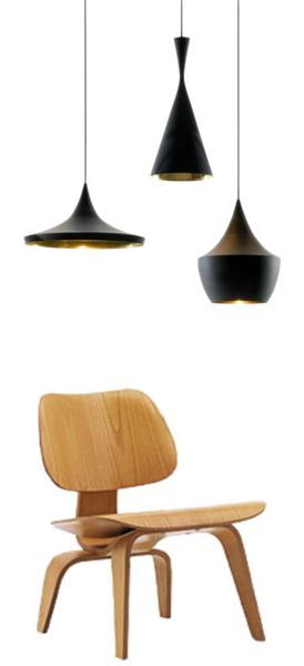 Via Flor | Eames Lcw Chair | Tom Dixon Beat Lamps