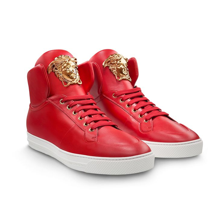 Versace Red Bottom Shoes