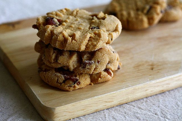 Peanut butter bacon cookies - a coworker just brought these in and they are delicious!