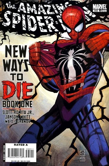 The amazing spider man 568 comic book cover comic - Marvel spiderman comics pdf ...