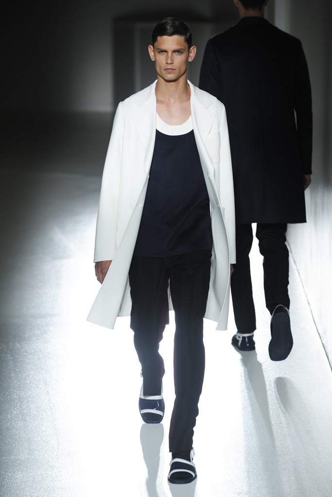 Prada Men's RTW Spring 2013  Someone buy me this whole dame outfit
