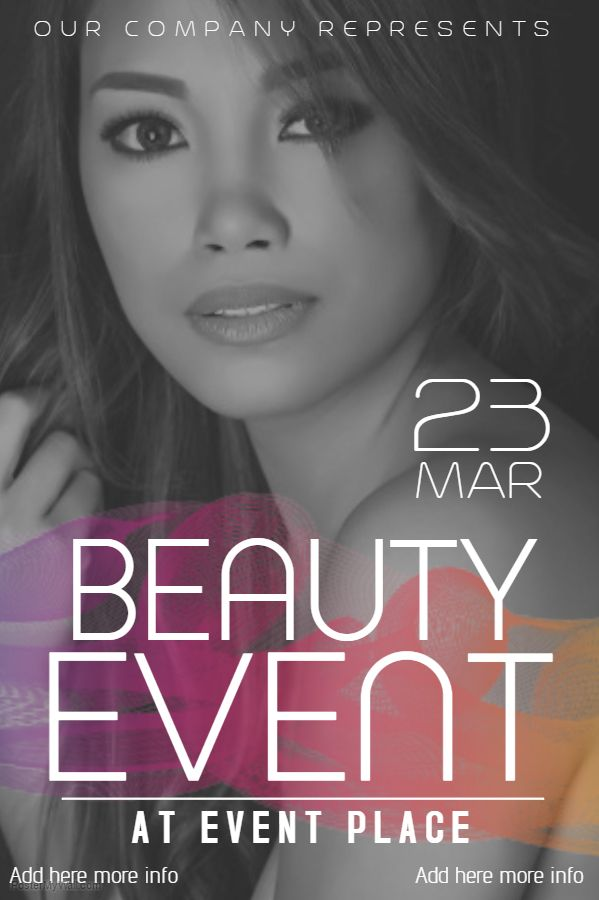 Beauty Salon Fashion Poster Flyer Social Media Post Template And Posters Pinterest Salons