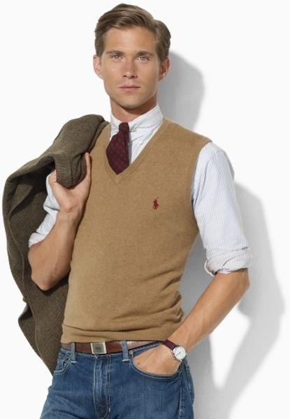 sweater vest men - Google Search