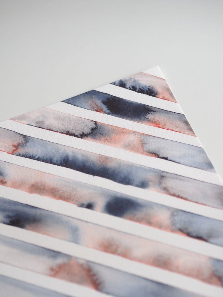 """Stripe"" art print"