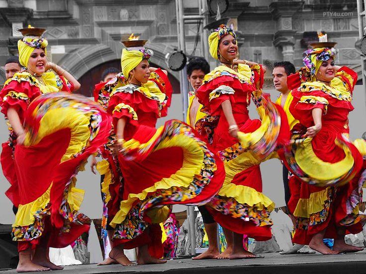 Panama Dancers Caribbean Caribbean Culture Dance