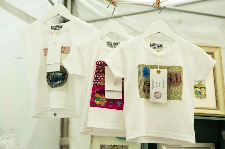 Children's handprinted t-shirts