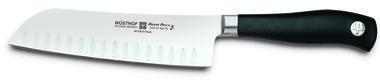 Wusthof Trident Grand Prix II 7'' Hollow Ground Santoku Knife