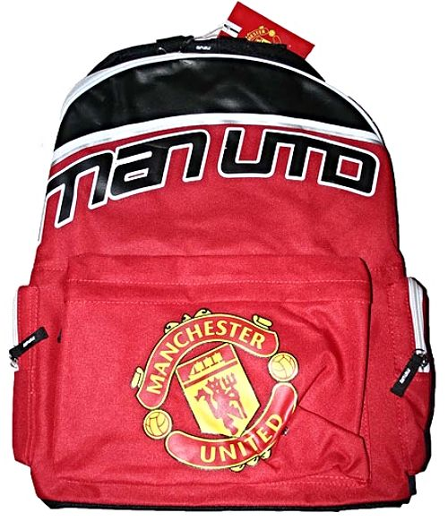 Manchester United Large MAN UTD Official Backpack
