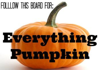 Everything Pumpkin! #pumpkinrecipe #pumpkinideas #pumpkincrafts #pumpkin