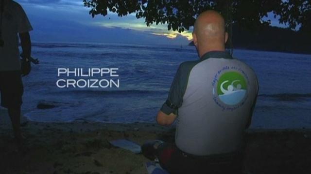 """""""Nager au-delà des frontières"""", le défi de Philippe Croizon diffusé dans Thalassa © Gédéon Programme/France Télévisions"""